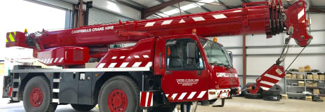 Campbells Crane Hire Services based in Oldham, Greater manchester.