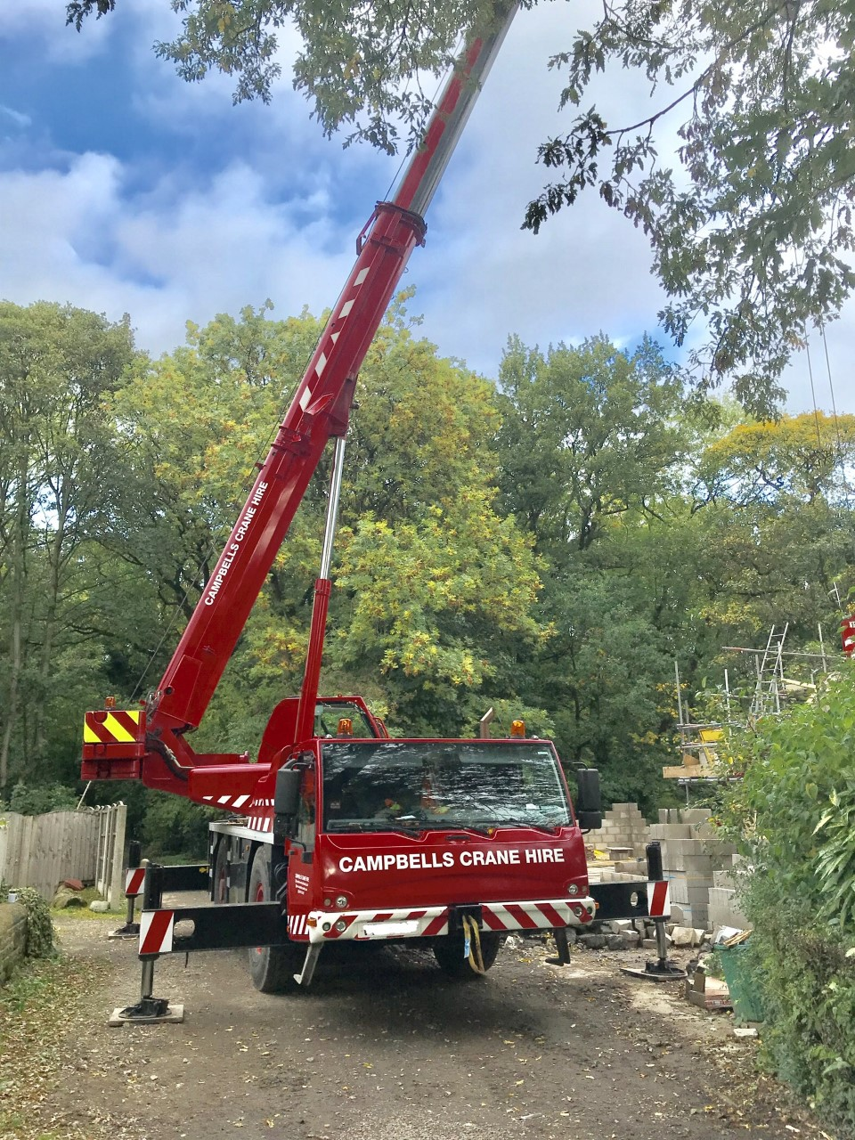 Contract Lifting Services From Campbells Crane Hire