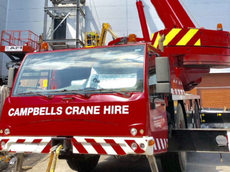Contract Lifting Mobile Crane