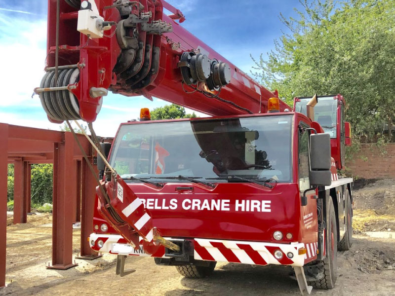 Mobile Crane Hire from Campbells Crane hire