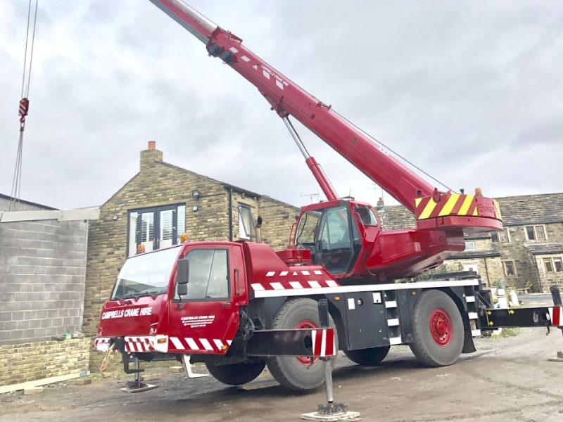 Crane Hire and What we lift